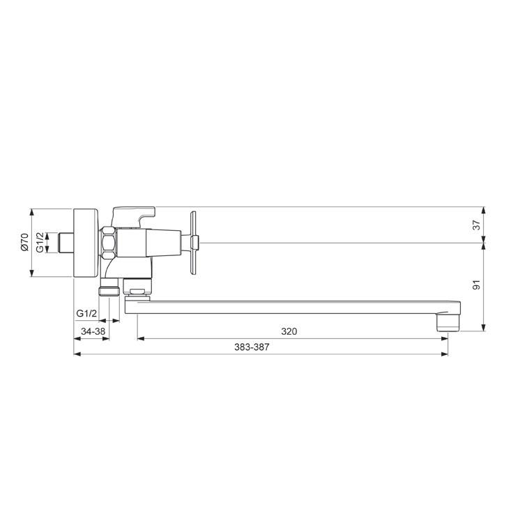 Схема смесителя Vidima Art 330