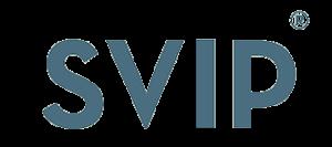 Логотип производителя товаров для уборки SVIP
