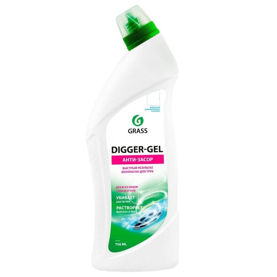 """Средство прочистки труб GRASS """"Digger Gel"""" 125438"""