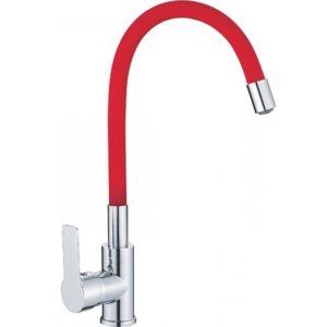 Смеситель для кухни Haiba 70112-6 (красный)
